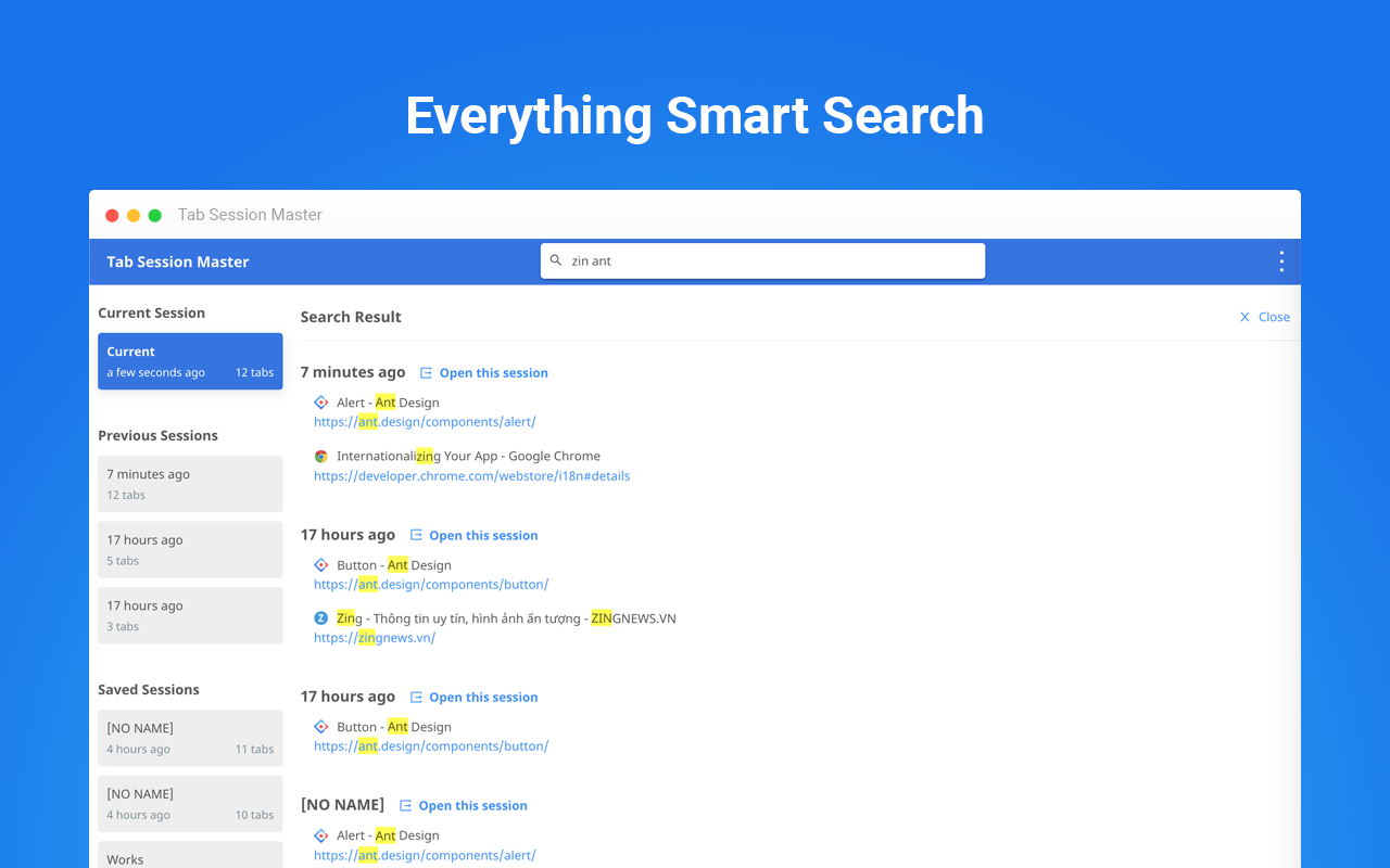 Everything Smart Search